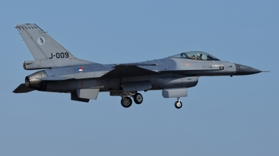 Photo ID 207512 by Rainer Mueller. Netherlands Air Force General Dynamics F 16AM Fighting Falcon, J 009