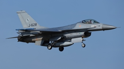 Photo ID 207514 by Rainer Mueller. Netherlands Air Force General Dynamics F 16AM Fighting Falcon, J 628