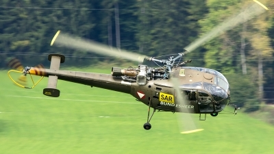 Photo ID 207600 by Thomas Ziegler - Aviation-Media. Austria Air Force Aerospatiale SA 316B Alouette III, 3E KR