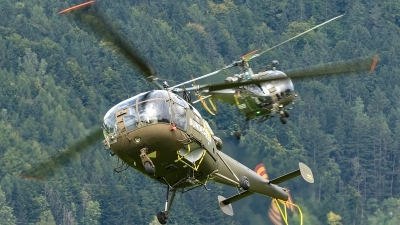 Photo ID 207599 by Thomas Ziegler - Aviation-Media. Austria Air Force Aerospatiale SA 316B Alouette III, 3E KR