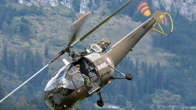 Photo ID 207643 by Thomas Ziegler - Aviation-Media. Austria Air Force Aerospatiale SA 316B Alouette III, 3E KZ