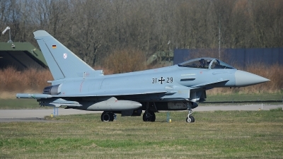 Photo ID 207568 by Peter Boschert. Germany Air Force Eurofighter EF 2000 Typhoon S, 31 29