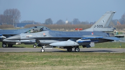 Photo ID 207585 by Peter Boschert. Netherlands Air Force General Dynamics F 16AM Fighting Falcon, J 509