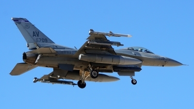 Photo ID 207579 by Lukas Kinneswenger. USA Air Force General Dynamics F 16C Fighting Falcon, 90 0709