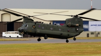 Photo ID 207575 by Lukas Kinneswenger. UK Air Force Boeing Vertol Chinook HC2 CH 47D, ZA675