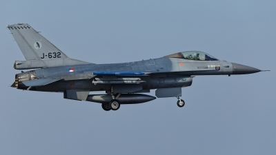 Photo ID 207610 by Rainer Mueller. Netherlands Air Force General Dynamics F 16AM Fighting Falcon, J 632