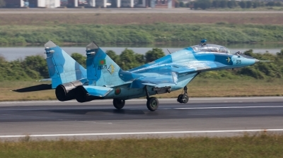 Photo ID 207782 by Andreas Zeitler - Flying-Wings. Bangladesh Air Force Mikoyan Gurevich MiG 29UB 9 51, 28375