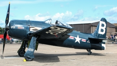 Photo ID 207651 by Ruben Galindo. Private The Fighter Collection Grumman F8F 2P Bearcat, G RUMM