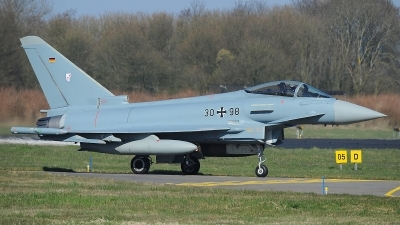 Photo ID 207686 by Peter Boschert. Germany Air Force Eurofighter EF 2000 Typhoon S, 30 98