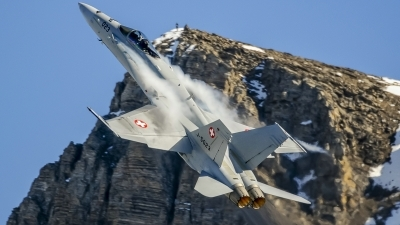 Photo ID 207758 by Martin Thoeni - Powerplanes. Switzerland Air Force McDonnell Douglas F A 18C Hornet, J 5023