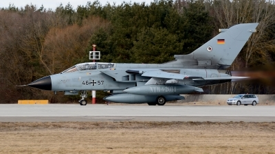 Photo ID 207703 by Günther Feniuk. Germany Air Force Panavia Tornado ECR, 46 57