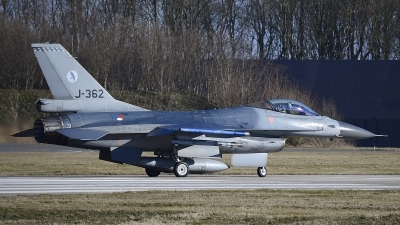 Photo ID 207851 by Peter Boschert. Netherlands Air Force General Dynamics F 16AM Fighting Falcon, J 362