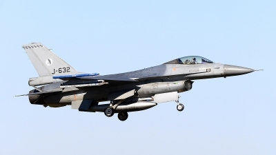 Photo ID 207813 by Peter Boschert. Netherlands Air Force General Dynamics F 16AM Fighting Falcon, J 632