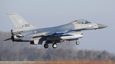 Photo ID 207812 by Peter Boschert. Netherlands Air Force General Dynamics F 16AM Fighting Falcon, J 362