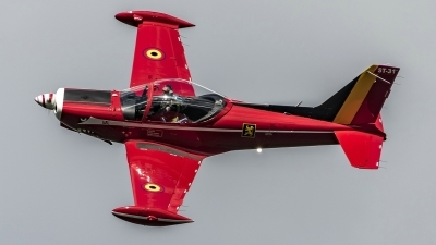 Photo ID 207995 by Martin Thoeni - Powerplanes. Belgium Air Force SIAI Marchetti SF 260M, ST 31