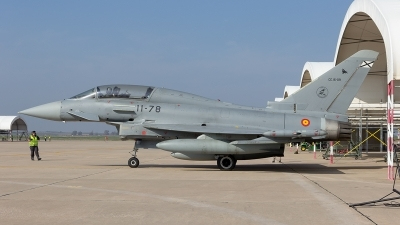 Photo ID 207930 by F. Javier Sánchez Gómez. Spain Air Force Eurofighter CE 16 Typhoon EF 2000T, CE 16 09