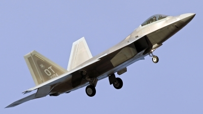 Photo ID 207936 by Richard de Groot. USA Air Force Lockheed Martin F 22A Raptor, 06 4124