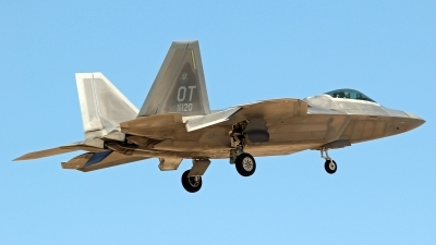 Photo ID 207866 by Richard de Groot. USA Air Force Lockheed Martin F 22A Raptor, 06 4120