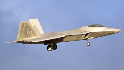 Photo ID 207867 by Richard de Groot. USA Air Force Lockheed Martin F 22A Raptor, 06 4128