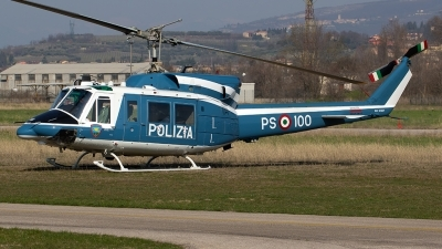 Photo ID 207899 by Roberto Bianchi. Italy Polizia Agusta Bell AB 212AM, MM81657