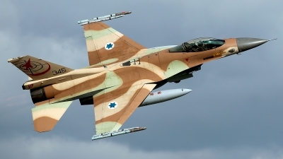 Photo ID 208068 by Carl Brent. Israel Air Force General Dynamics F 16C Fighting Falcon, 345