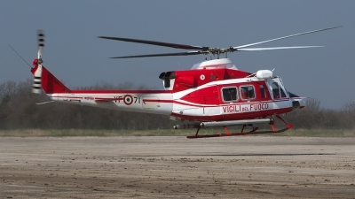 Photo ID 208108 by Roberto Bianchi. Italy Vigili del Fuoco Agusta Bell AB 412EP Grifone, I VFPA