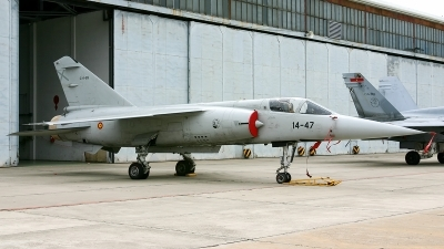 Photo ID 208118 by F. Javier Sánchez Gómez. Spain Air Force Dassault Mirage F1C, C 14 89