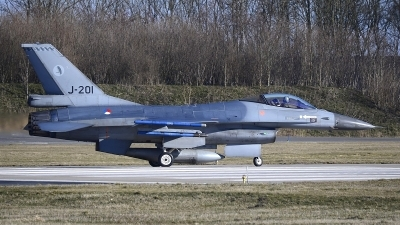 Photo ID 208162 by Peter Boschert. Netherlands Air Force General Dynamics F 16AM Fighting Falcon, J 201