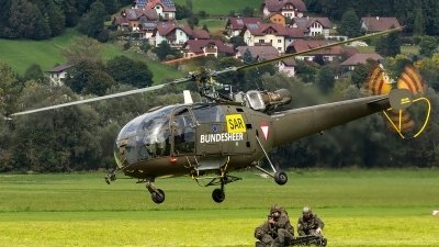 Photo ID 208384 by Thomas Ziegler - Aviation-Media. Austria Air Force Aerospatiale SA 316B Alouette III, 3E KR
