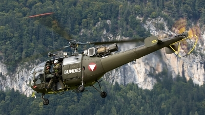 Photo ID 208361 by Thomas Ziegler - Aviation-Media. Austria Air Force Aerospatiale SA 316B Alouette III, 3E KU