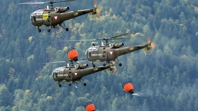 Photo ID 208352 by Thomas Ziegler - Aviation-Media. Austria Air Force Aerospatiale SA 316B Alouette III, 3E KX