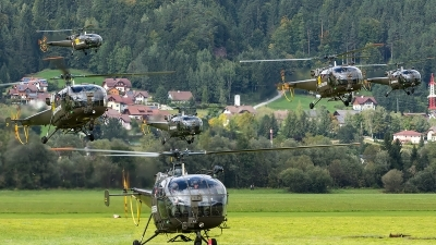 Photo ID 208437 by Thomas Ziegler - Aviation-Media. Austria Air Force Sud Aviation SE 3160 Alouette III, 3E LA