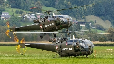 Photo ID 208354 by Thomas Ziegler - Aviation-Media. Austria Air Force Aerospatiale SA 316B Alouette III, 3E KX