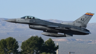 Photo ID 208409 by Hans-Werner Klein. USA Air Force General Dynamics F 16C Fighting Falcon, 89 2002
