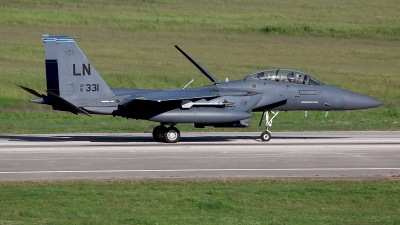 Photo ID 208425 by Carl Brent. USA Air Force McDonnell Douglas F 15E Strike Eagle, 91 0331