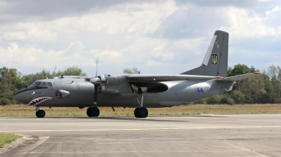 Photo ID 208453 by Milos Ruza. Ukraine Air Force Antonov An 26,