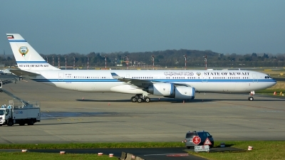 Photo ID 208483 by Michael Frische. Kuwait Goverment Airbus A340 541, 9K GBA