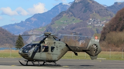 Photo ID 208502 by Ludwig Isch. Switzerland Air Force Eurocopter EC 635P2, T 353