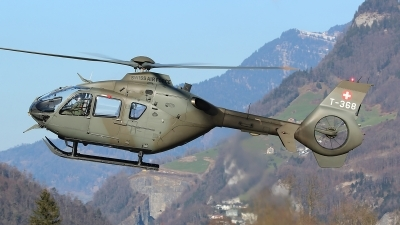 Photo ID 208503 by Ludwig Isch. Switzerland Air Force Eurocopter TH05 EC 635P2, T 368