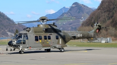 Photo ID 208504 by Ludwig Isch. Switzerland Air Force Aerospatiale AS 532UL Cougar, T 339