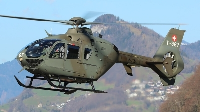 Photo ID 208505 by Ludwig Isch. Switzerland Air Force Eurocopter EC 635P2, T 367