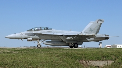 Photo ID 208532 by David F. Brown. USA Navy Boeing F A 18F Super Hornet, 166682