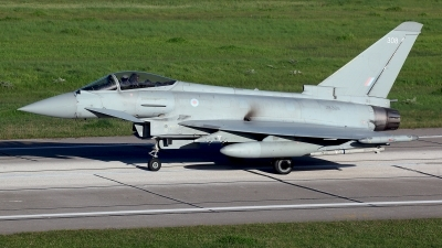 Photo ID 208546 by Carl Brent. UK Air Force Eurofighter Typhoon FGR4, ZK308