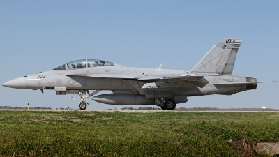 Photo ID 208570 by David F. Brown. USA Navy Boeing F A 18F Super Hornet, 166618