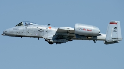 Photo ID 208564 by Rod Dermo. USA Air Force Fairchild A 10C Thunderbolt II, 80 0265