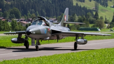 Photo ID 208636 by Agata Maria Weksej. Private Fliegermuseum Altenrhein Hawker Hunter T68, HB RVP