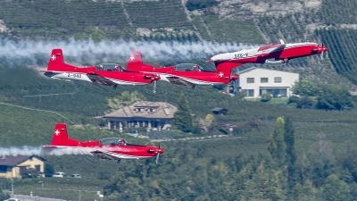 Photo ID 208657 by Martin Thoeni - Powerplanes. Switzerland Air Force Pilatus NCPC 7 Turbo Trainer, A 925