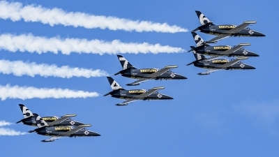 Photo ID 208659 by Martin Thoeni - Powerplanes. Private Breitling Jet Team Aero L 39C Albatros, ES YLP