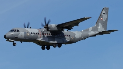 Photo ID 208778 by Rainer Mueller. Poland Air Force CASA C 295M, 015