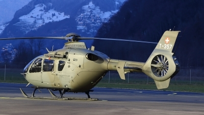 Photo ID 208844 by Ludwig Isch. Switzerland Air Force Eurocopter TH05 EC 635P2, T 357